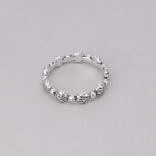 Anel Conchas - Prata Envelhecida