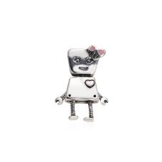 Berloque Robô Menina