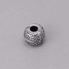Berloque Clipe Borboleta - Prata Envelhecida