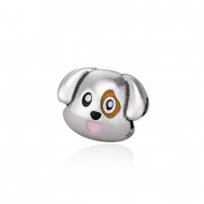 Berloque Beagle - Prata