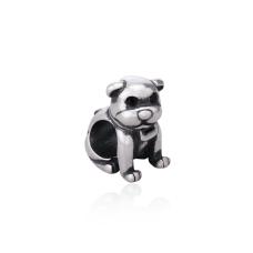 Berloque Bullmastiff - Prata Envelhecida