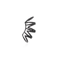 Brinco Ear Cuff Cravejado - IP Black