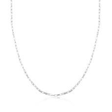 Corrente Cartier 50 cm - Prata Branca