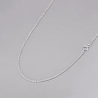 Corrente Pipoca 50cm/ 1,5mm - Prata Branca