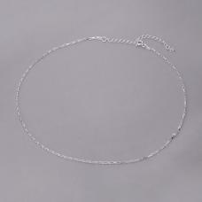 Corrente Choker Cartier - Prata Branca