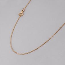 Corrente Veneziana 70 cm - Folheado a Ouro
