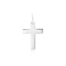 Pingente Cruz - Prata Branca