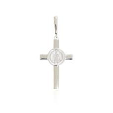 Pingente Crucifixo São Bento