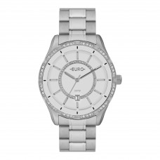 Relógio Euro Prata Feminino EU21176HAB/K3B