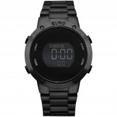Relógio Euro Digital Preto Feminino EUBJ3279AB/K4P