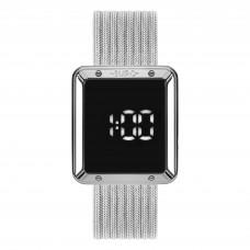 Relógio Euro Digital Prata Feminino EUBJ3937AD/4F **14