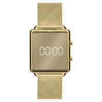 Relógio Euro Digital Dourado Feminino EUJHS31BAM/4D