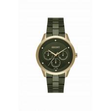 Relógio Orient Dourado e Verde Feminino FTSSM058 E1EX