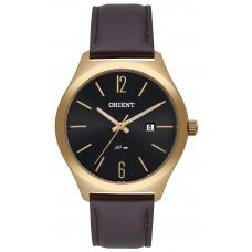 Relógio Orient Dourado e Marrom MGSC1009 G2NX