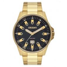Relógio Orient Dourado Masculino MGSS1218 P1KX