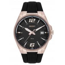 Relógio Orient Preto e Rosé Masculino MRSP1003 G2PX