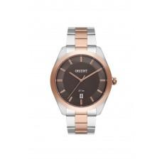 Relógio Orient Prata e Rosé Masculino MTSS1102 M1SR