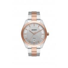 Relógio Orient Prata e Rosé Masculino MTSS1102 S1SR