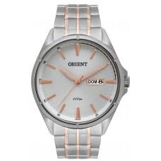 Relógio Orient Prata e Rosé MTSS2006 S1SR