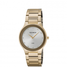 Relógio Technos Dourado Feminino 1L22EN/4K