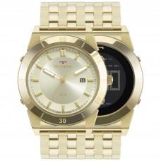 Relógio Technos Dourado 1S13CQ/4X