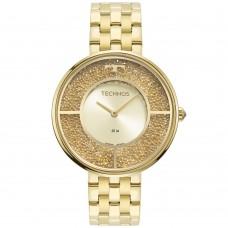 Relógio Technos Dourado Feminino 2025LTS/1X