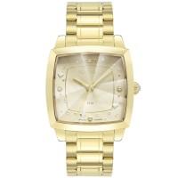 Relógio Technos Dourado Feminino 2036MNG/1X