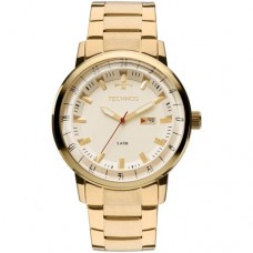 Relógio Technos Dourado Masculino 2115LAP/4X
