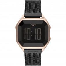 Relógio Technos Digital Preto e Rosé BJ3851AM/4P