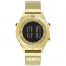 Relógio Technos Digital Dourado Feminino BJ3927AA/1C