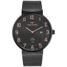 Relógio Technos Preto Masculino GM15AP/1J