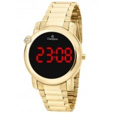 Relógio Champion Digital Dourado Feminino CH48064H