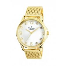 Relógio Champion Dourado Feminino CN24093M