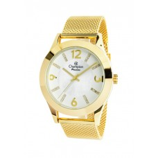Relógio Champion Dourado Feminino CN28713M