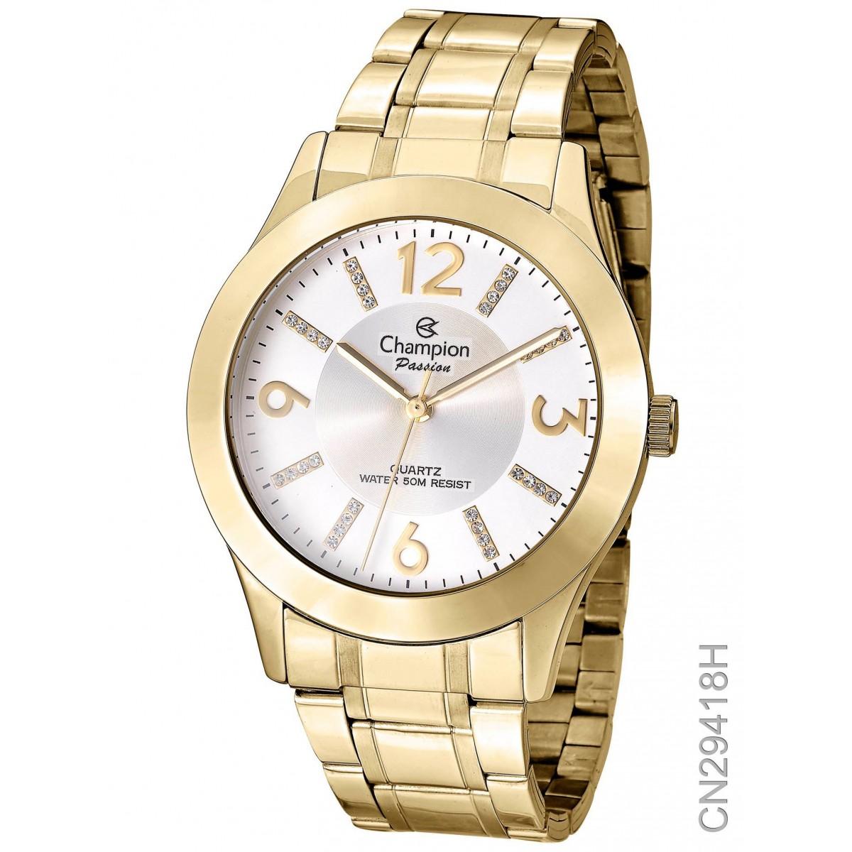 Relógio Champion Dourado CN29418H