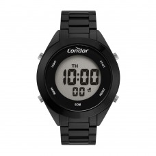 Relógio Condor Digital Preto Feminino COAE19432AL/4P