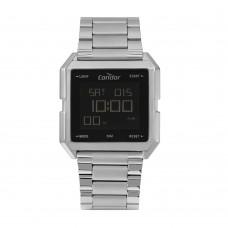 Relógio Condor Prata Digital Masculino COBJ3074AB/4K