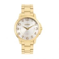 Kit Relógio Condor Dourado Feminino COPC21AEAJ/K4K