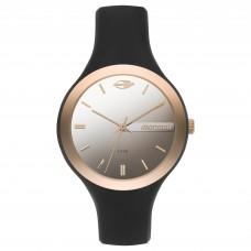 Relógio Mormaii Preto e Rosé Feminino MO2035KR/8Q