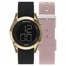 Kit Relógio Mormaii Digital Feminino MOMD1201AF/T8D