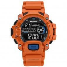 Relógio Mormaii Digital Laranja Masculino MOZM1132/8L **14