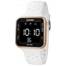 Relógio X-Games Digital Branco e Rosé XGPPD094 PXBX