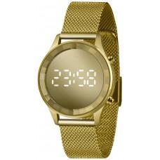 Relógio Lince Digital Dourado LDG4648L CXKX