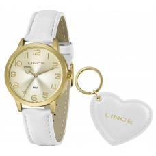 Relógio Lince Branco Feminino LRC4671L KN29C2BX