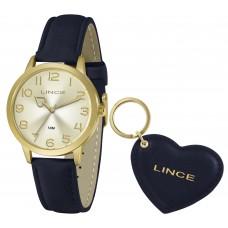 Relógio Lince Azul Feminino LRC4671L KN30C2DX