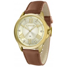 Relógio Lince Couro Feminino LRCJ046L C3MX