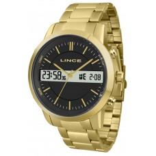 Relógio Lince Anadigi Dourado MAG4489S P1KX