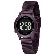 Relógio Lince Digital Roxo Feminino SDPH115L PXUX