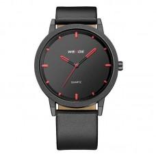 Relógio Masculino Weide analógico WD001 Preto e Vermelho