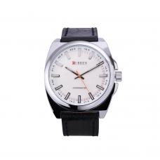 Relógio Masculino Curren 8168 Preto e Prata ****